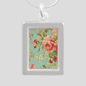 Beautiful Vintage rose floral Necklaces