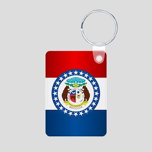 Missouri Flag Keychains
