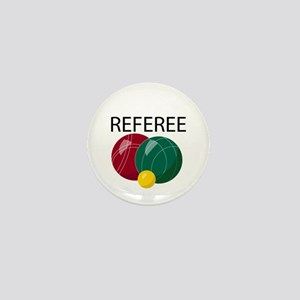 Bocce Ref Mini Button