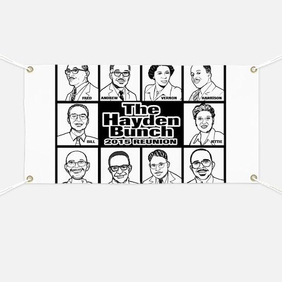 The Hayden Bunch 2015 Reunion Banner