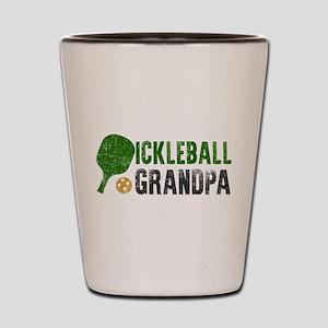 Pickleball Grandpa Shot Glass
