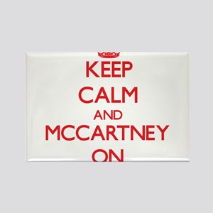 Keep Calm and Mccartney ON Magnets