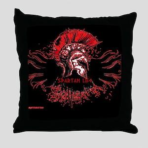 Spartan Life Throw Pillow