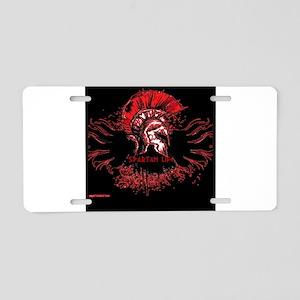 Spartan Life Aluminum License Plate