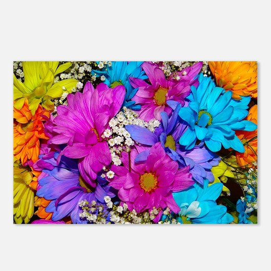 Daisies Delight Postcards (Package of 8)