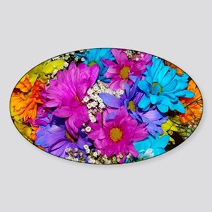 Daisies Delight Sticker (Oval)
