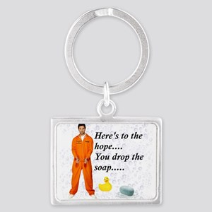 Hopeful Prisoner Shower Buddy Keychains