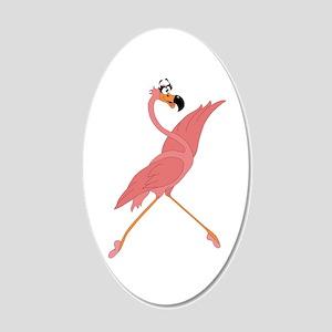 Pretty Flamingo Wall Decal