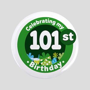 101st Birthday Button