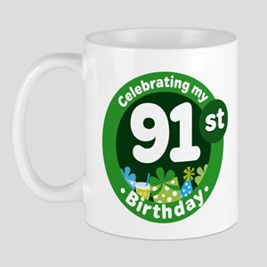 91st Birthday Mug