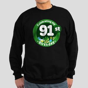 91st Birthday Sweatshirt (dark)
