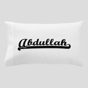 Abdullah Classic Retro Name Design Pillow Case