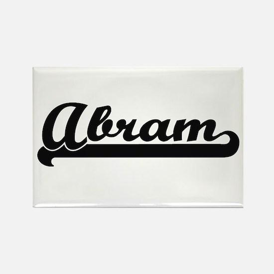 Abram Classic Retro Name Design Magnets