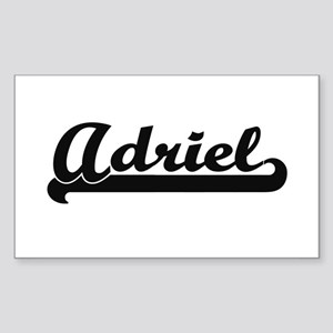 Adriel Classic Retro Name Design Sticker