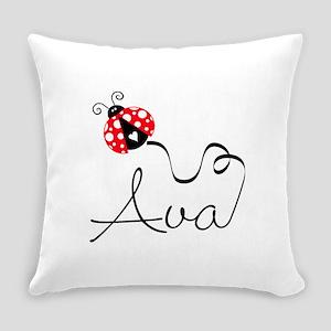 Ladybug Ava Everyday Pillow
