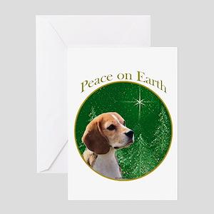 Beagle Peace Greeting Card