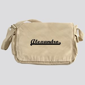 Alexandro Classic Retro Name Design Messenger Bag
