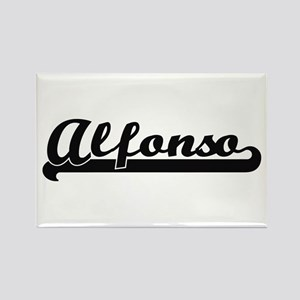 Alfonso Classic Retro Name Design Magnets