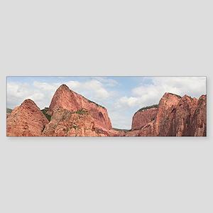 Kolob Canyons, Zion National Park, Bumper Sticker