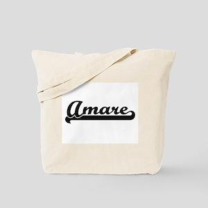 Amare Classic Retro Name Design Tote Bag