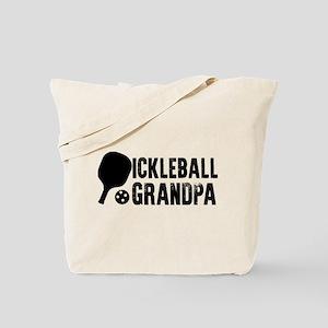 Pickleball Grandpa Tote Bag