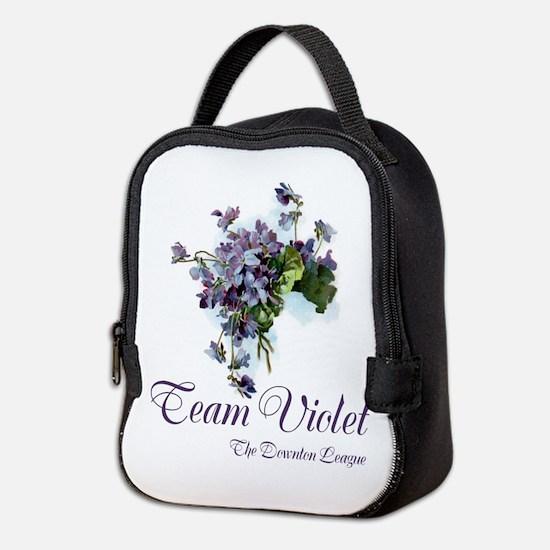 Team Violet Neoprene Lunch Bag