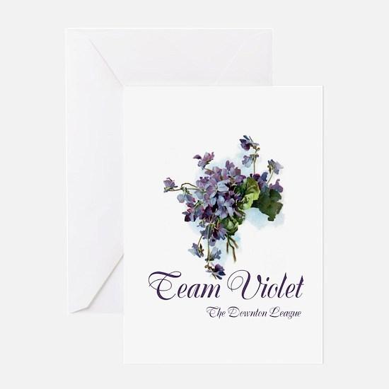Team Violet Greeting Cards