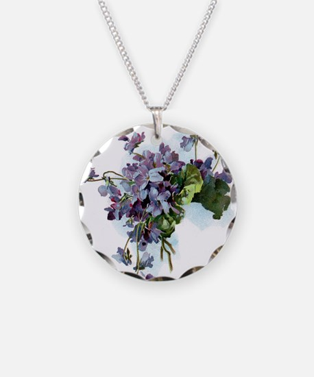 Violets Necklace