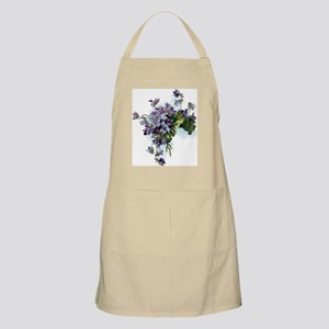 Violets Apron