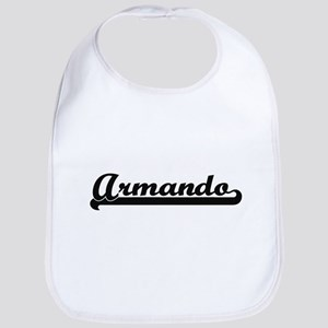 Armando Classic Retro Name Design Bib