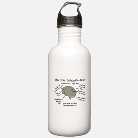 Funny Osteopathic Physician Water Bottle