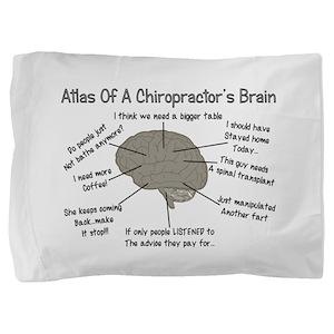 Chiropractor Humor Pillow Sham