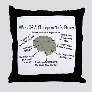 Chiropractor Humor Throw Pillow