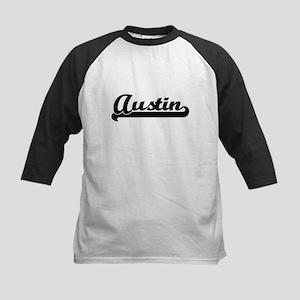 Austin Classic Retro Name Design Baseball Jersey
