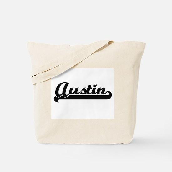 Austin Classic Retro Name Design Tote Bag