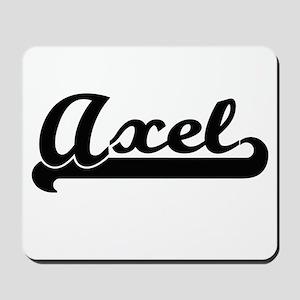 Axel Classic Retro Name Design Mousepad
