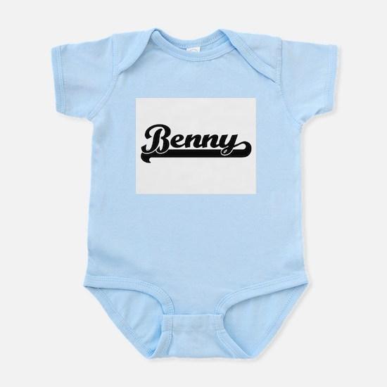 Benny Classic Retro Name Design Body Suit