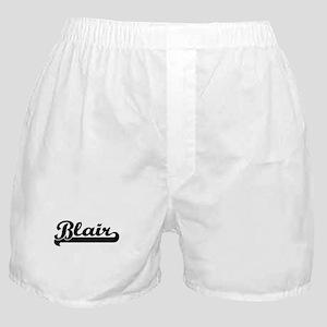 Blair Classic Retro Name Design Boxer Shorts