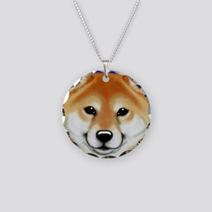 Koji's Smiling face plus Necklace Circle Charm