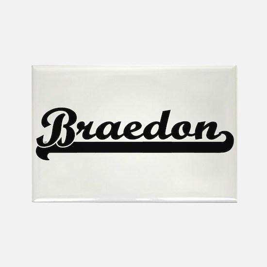 Braedon Classic Retro Name Design Magnets