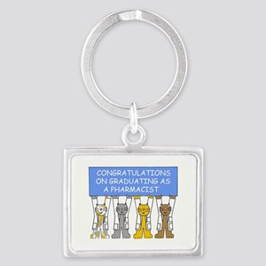 Congratulations on graduating a Landscape Keychain
