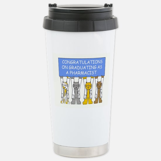 Congratulations on grad Stainless Steel Travel Mug