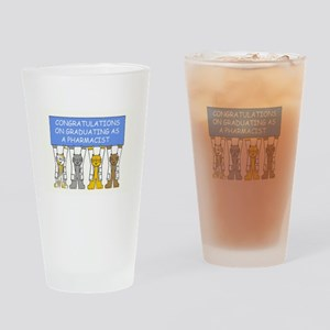 Congratulations on graduating as a  Drinking Glass