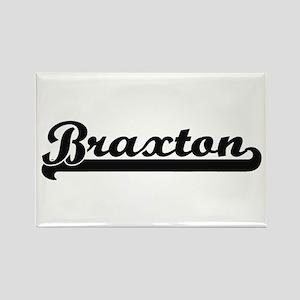 Braxton Classic Retro Name Design Magnets