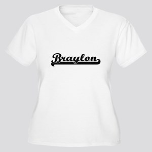 Braylon Classic Retro Name Desig Plus Size T-Shirt