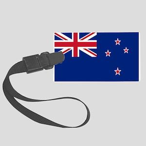 New Zealand Flag Large Luggage Tag