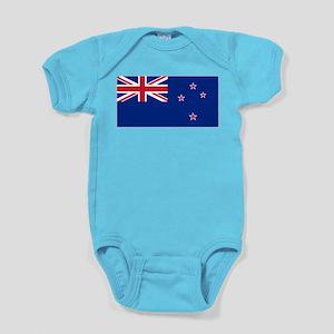 New Zealand Flag Baby Bodysuit
