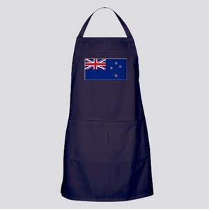 New Zealand Flag Apron (dark)