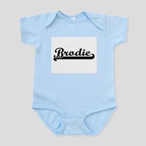 Brodie Classic Retro Name Design Body Suit