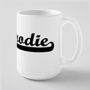 Brodie Classic Retro Name Design Mugs